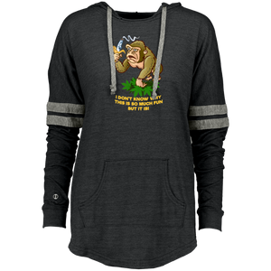 420 Gorilla - I don't know why this is so funny but it is 229390 Holloway Ladies Hooded Low Key Pullover