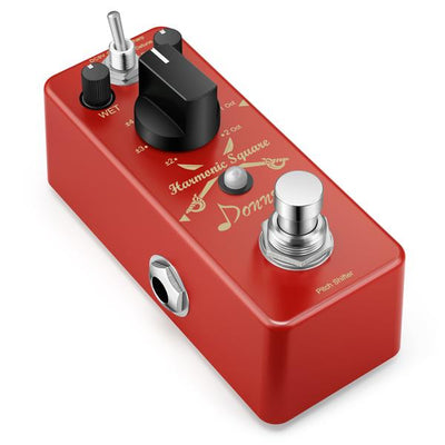 Digital Harmonic Square Pedal Octave/Pitch Shifter Pedal