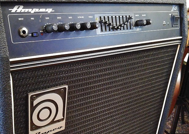 Custom padded cover for AMPEG B3 Bass Combo