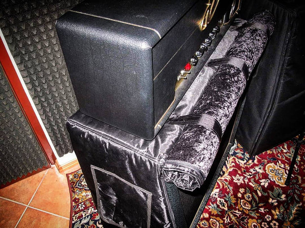 "Custom padded cover w/zippers, roll-up flap for CARVIN Legacy 4x12"" Slant cab"