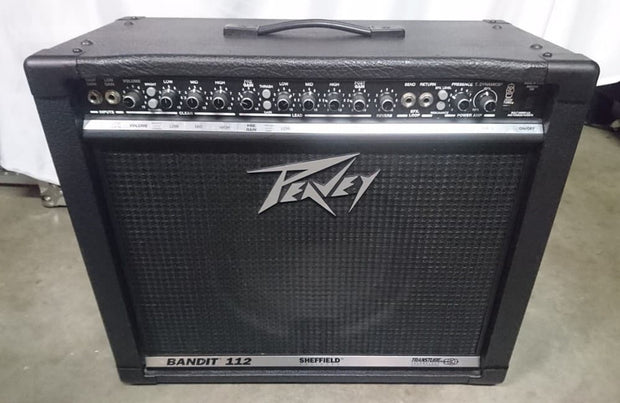 Custom padded cover for PEAVEY Bandit 112 Silver stripe (circa 1998) combo