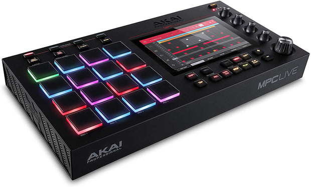 Custom padded cover for AKAI MPC Live