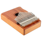 17 Key KALIMBA Thumb Piano Finger Piano, Mbira Solid Mahogany Body