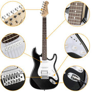 39 Inch Solid Full-Size Electric Guitar Kit