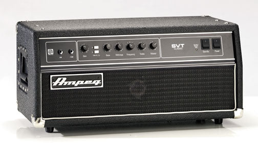 Custom padded cover for Ampeg SVT Classic Head Amp