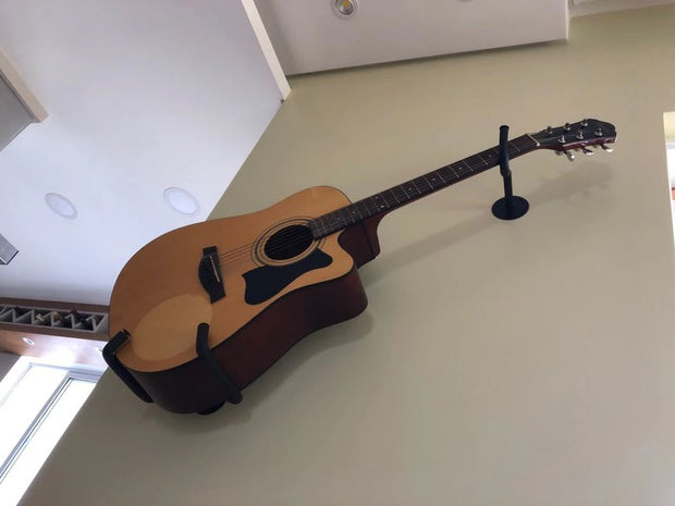 2 Pieces Horizontal Guitar Wall Mount