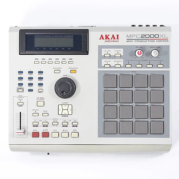 Custom padded cover for AKAI MPC 2000 XL MPC2000XL