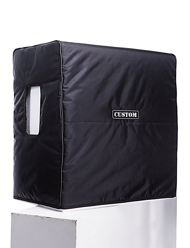 "Custom padded cover for BOGNER 412 ST Straight cab 4x12"" studio picture side handle opening"
