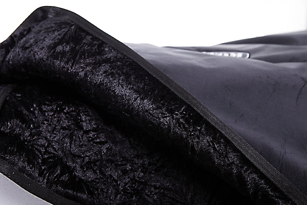 "Custom padded cover for BOGNER 412 ST Straight cab 4x12"" high quality protection soft velvet interior"
