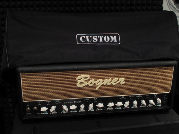 Custom padded cover for BOGNER Shiva head amp