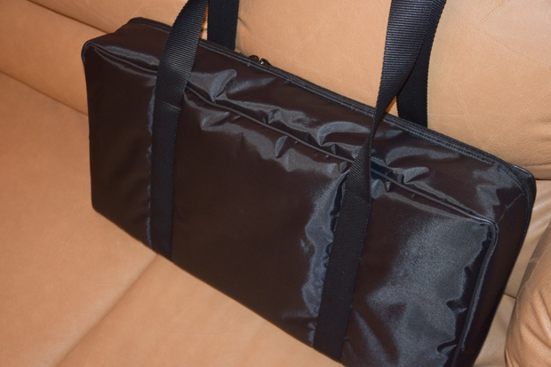Custom padded travel bag for TC Electronic G-SYSTEM floorboard processor