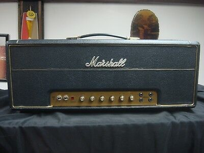 Custom padded cover for MARSHALL Plexi 1950-1959 SLP head amp