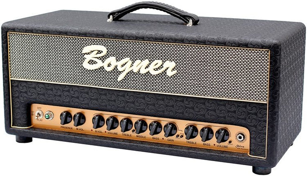 Custom padded cover for BOGNER Shiva 20th Anniversary head amp