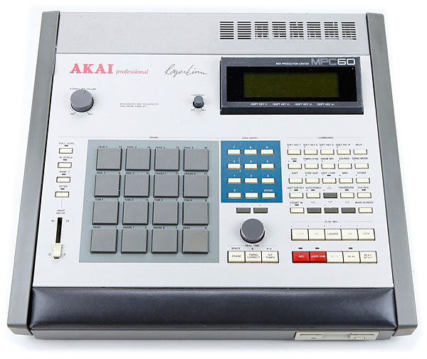 Custom padded cover for AKAI MPC 60 Mk I