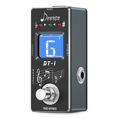 Chromatic Guitar Pedal Tuner - True Bypass