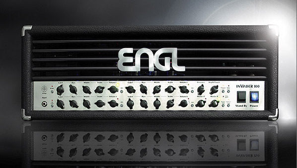 Custom padded cover for ENGL Invader 100 E642 head amp