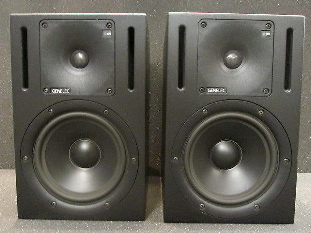 Custom padded cover for GENELEC 1030A (pair) Studio Monitors