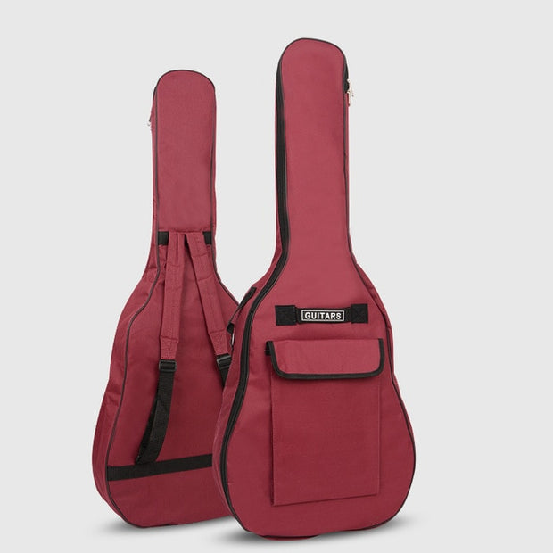 "Acoustic Guitar Gig-Bags 40/41"" Soft-Cases With Straps (5 Colors Available)"