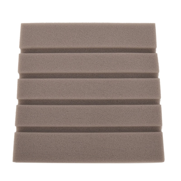 3 x Acoustic Panels 25 x 25 cm Sound-proof Wall Sponge (Studio Foam)