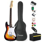 Donner 39 Inch Beginner Full Guitar Bundle