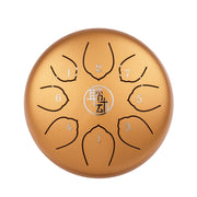 6 Inch Steel Tongue Drum