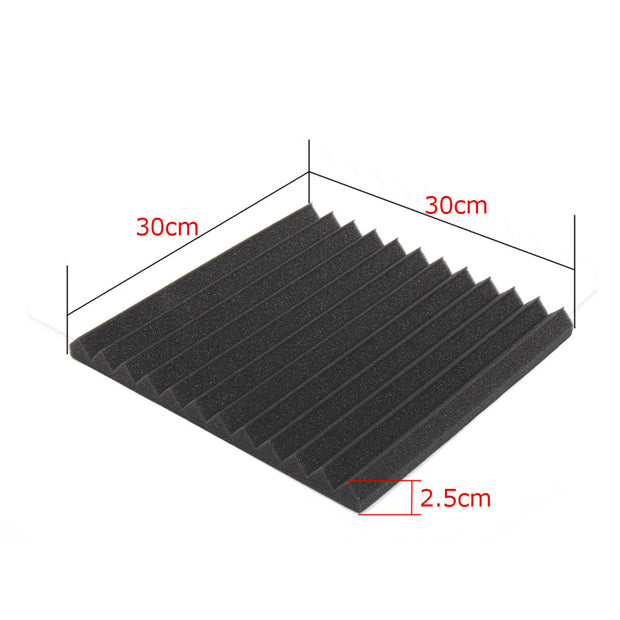 6 Pcs Soundproof Acoustic Foam Panels
