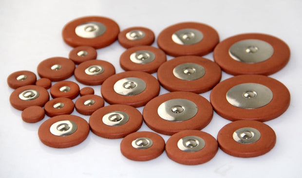 25 Alto Saxophone Replacement Leather Pads