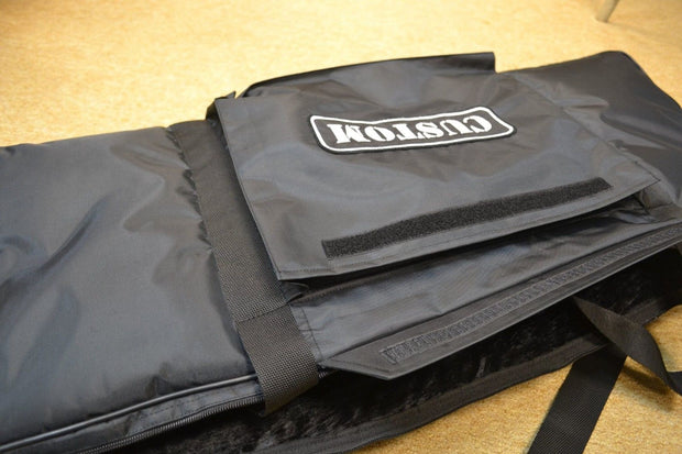Korg Triton Taktile 49 Key Custom Padded Keyboard and Synth Travel Bag Soft Case Inside Velvet Interior Heavy Duty Nylon Protection Slip Cover