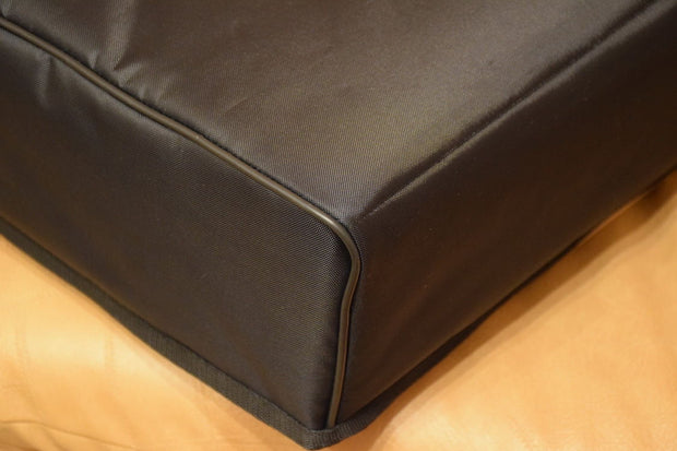 Custom padded cover for JVC QL-A7 turntable w/ rear-cut for an easy cable access