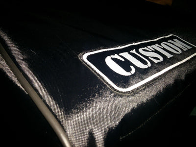 Custom padded cover for Oberheim Matrix 12 keyboard