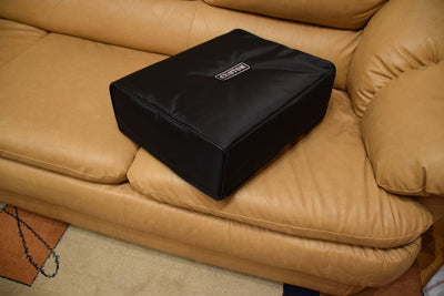 Custom padded cover for Music Hall MMF 7 turntable