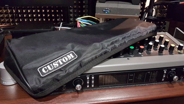 Custom padded cover for Softube Console 1 (Mk1 / Mk2) w/ rear-cut for the cable