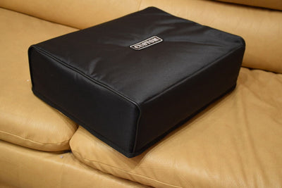 Custom padded cover for Linn Sondek LP-12 turntable