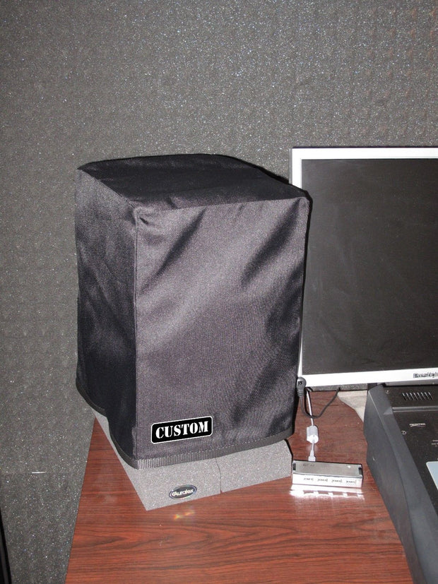 Custom non-padded cover (pair) w/rear-cut for TANNOY Reveal Active monitors