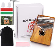 Premium 17 Key KALIMBA + Accessories (Thumb Piano)