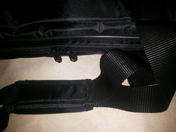 Custom padded travel bag soft case for ACCESS Virus DESKTOP synth