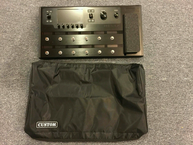 Custom padded cover for LINE6 Helix guitar processor - floorboard model LINE 6