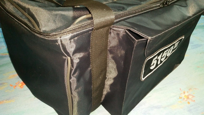 Custom dual-padded bag for Fender EVH 5150 III 50 W head amp