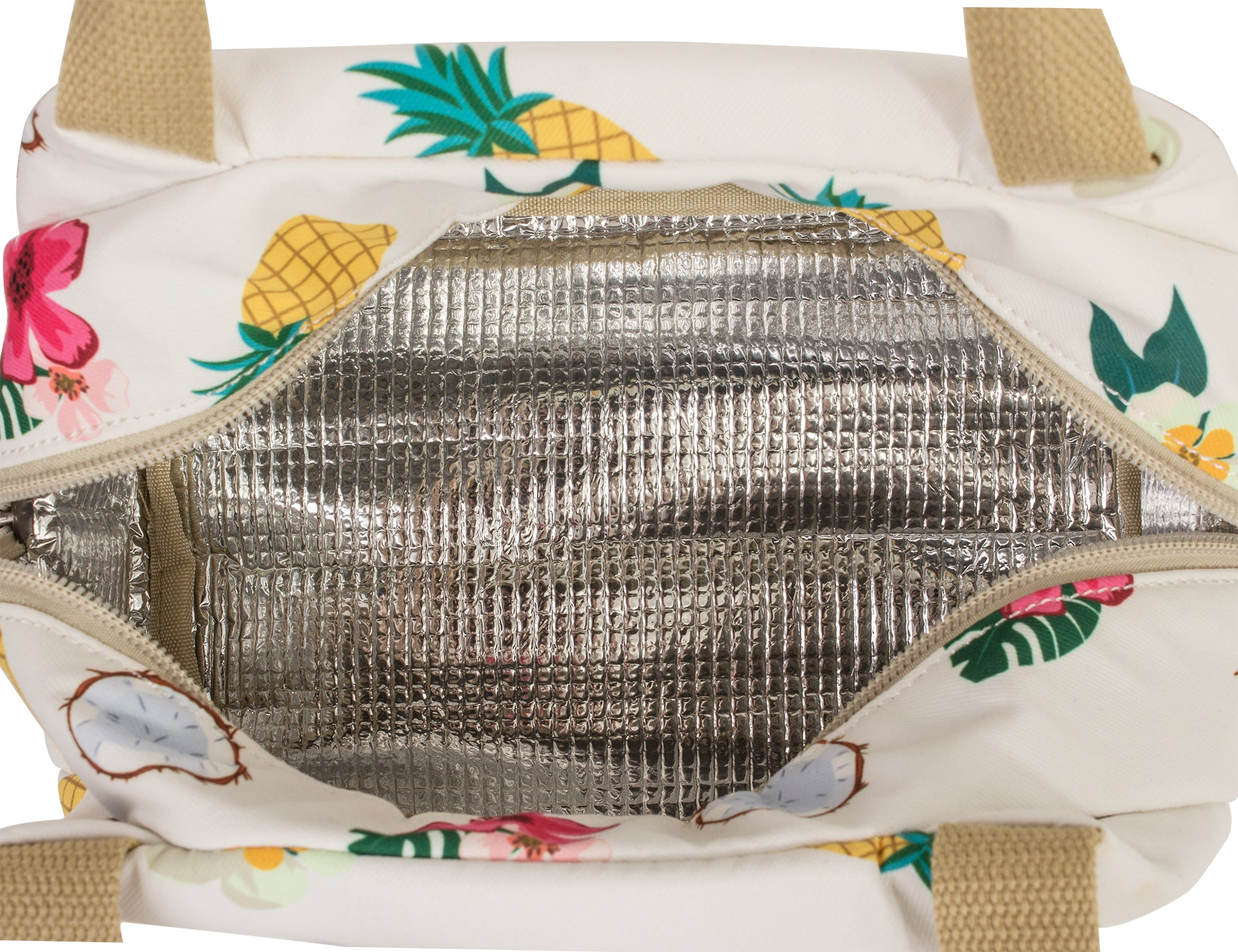 bb0703fbfd6d TOPERIN Reusable Pineapple Lunch Bag Insulated Lunch Tote Bag Lunch ...