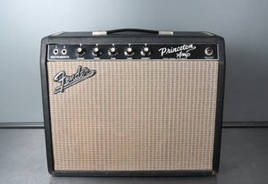 "1966 Fender Princeton Amp, Non-Reverb model with 12"" speaker"