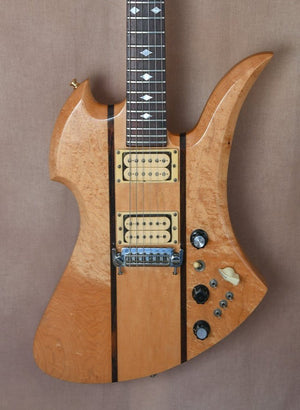 1979 B.C. Rich Mockingbird Natural Gloss OHSC