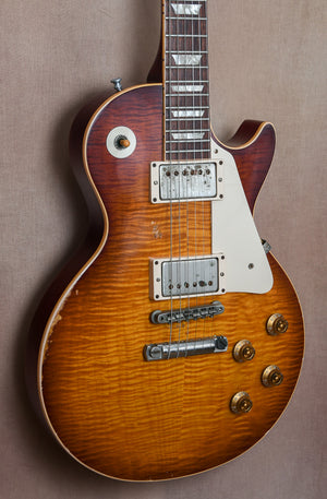 "2009 Gibson '59 Les Paul Billy Gibbons ""Pearly Gates"" Tom Murphy Aged"