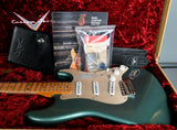 2020 Fender Custom Shop Limited Dual Mag '55 Stratocaster Super Faded Aged Sherwood Green Journeyman Relic
