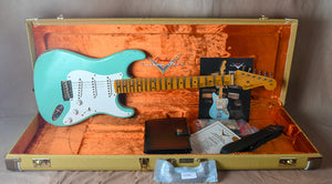 2018 Fender Custom Shop LTD '55 Relic Stratocaster Aged Faded Seafoam Green
