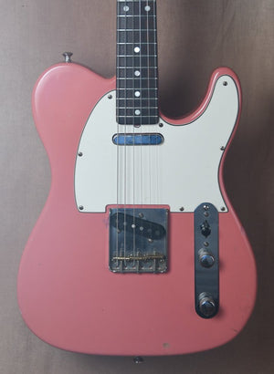 1988 Partscaster Custom Build Telecaster Salmon Pink
