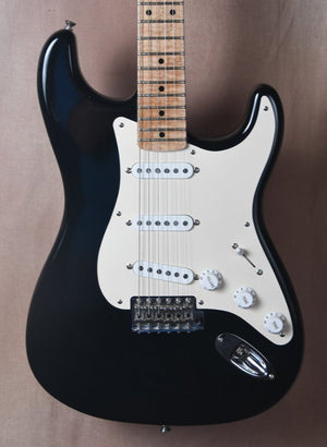 2004 Fender Custom Shop '56 Stratocaster Black NOS with 4A Flame Neck OHSC