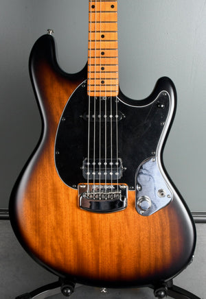 2020 Ernie Ball Music Man Dustin Kensrue Stingray  Dark Satin Tobacco Burst