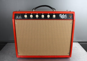 2020 Tyler Amp Works JT-22 1x12 Combo Custom Cherry Sunburst Wood Cabinet