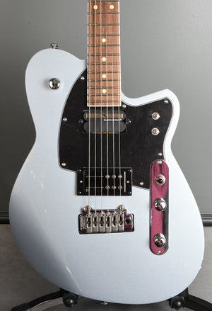 2020 Reverend Reeves Gabrels Sustainiac Metallic Silver Freeze