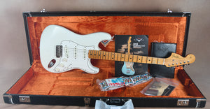 2018 Fender Custom Shop Jimi Hendrix Voodoo Child Journeyman Relic Olympic White